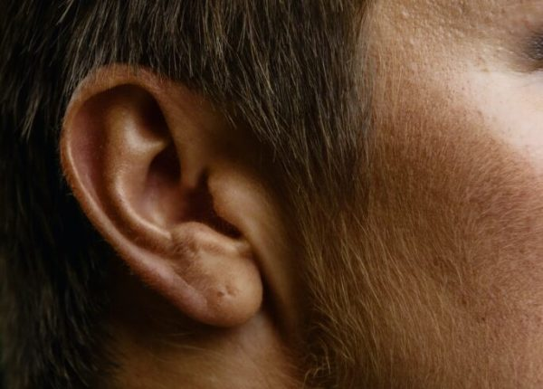 close up image of ear